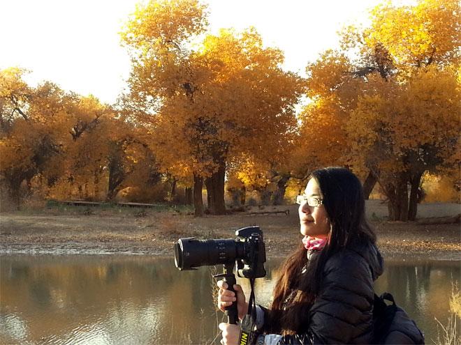 胡杨:弱水河畔的爱情