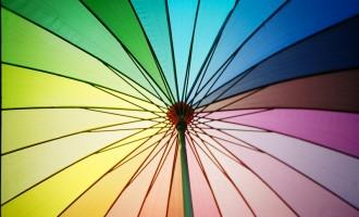 我对色彩的欢喜