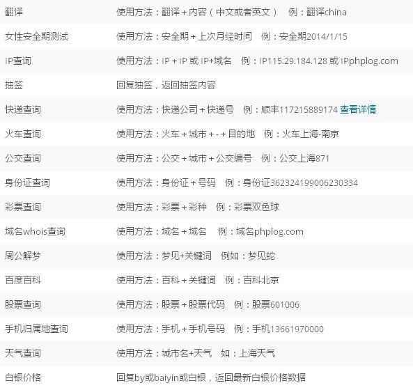 微信公众账号扩展功能