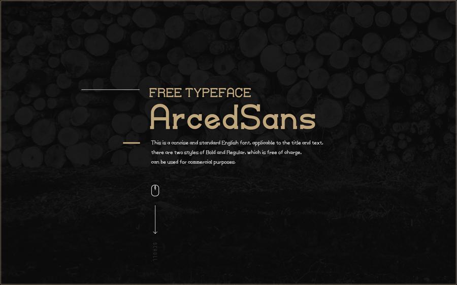 YS-ArcedSans